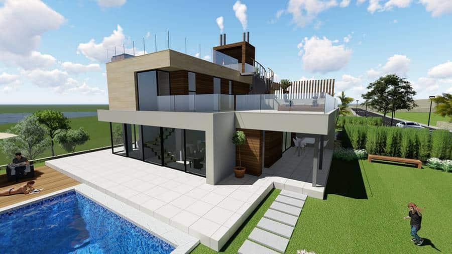 Modern Luxury 4 Bedroom Villa – Polop