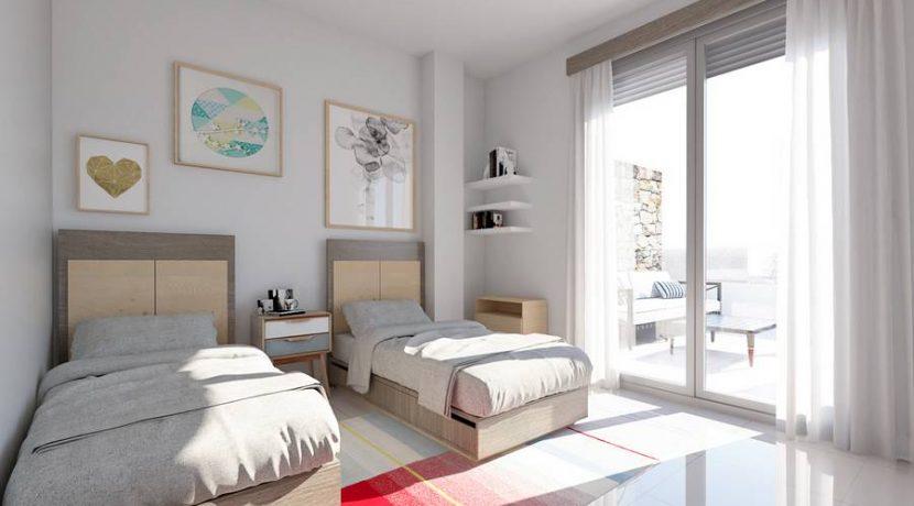 Dormitorio de dos camas_tn