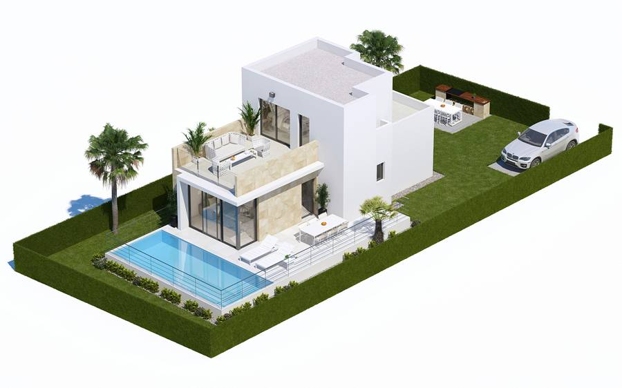 Ref:PPS20009C Villa For Sale in Finestrat