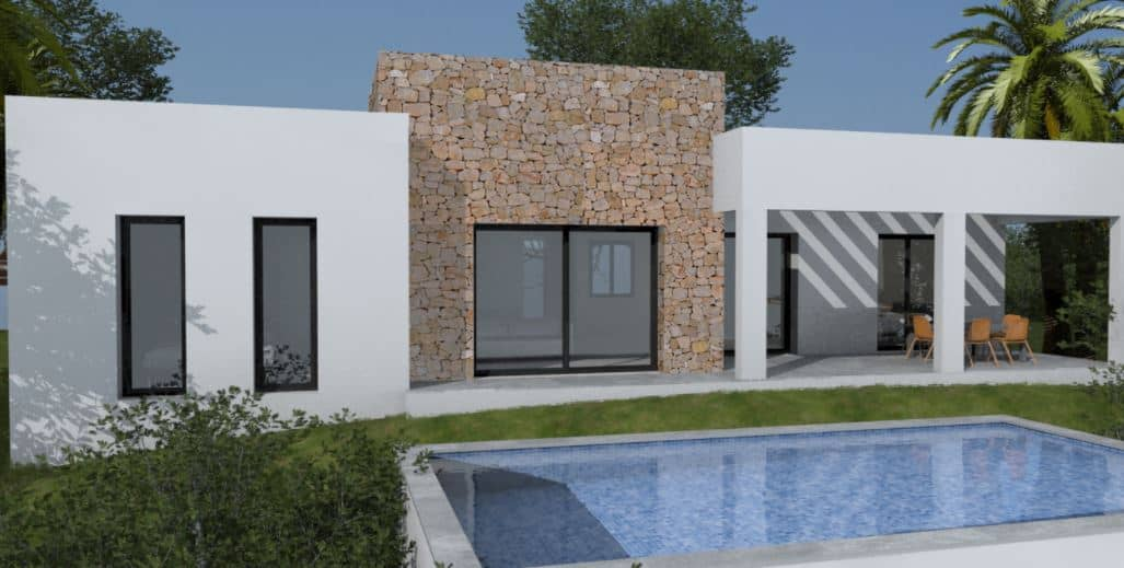Ref:PPS20271C Villa For Sale in Pedreguer