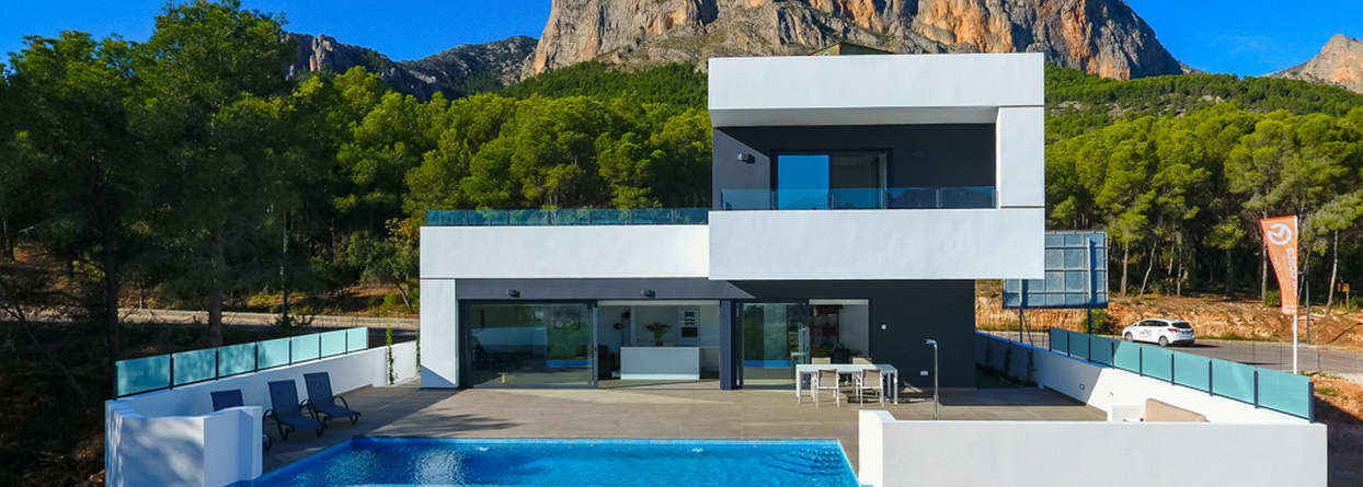 Spectacular New 3 Bedroom Modern Villa – Polop