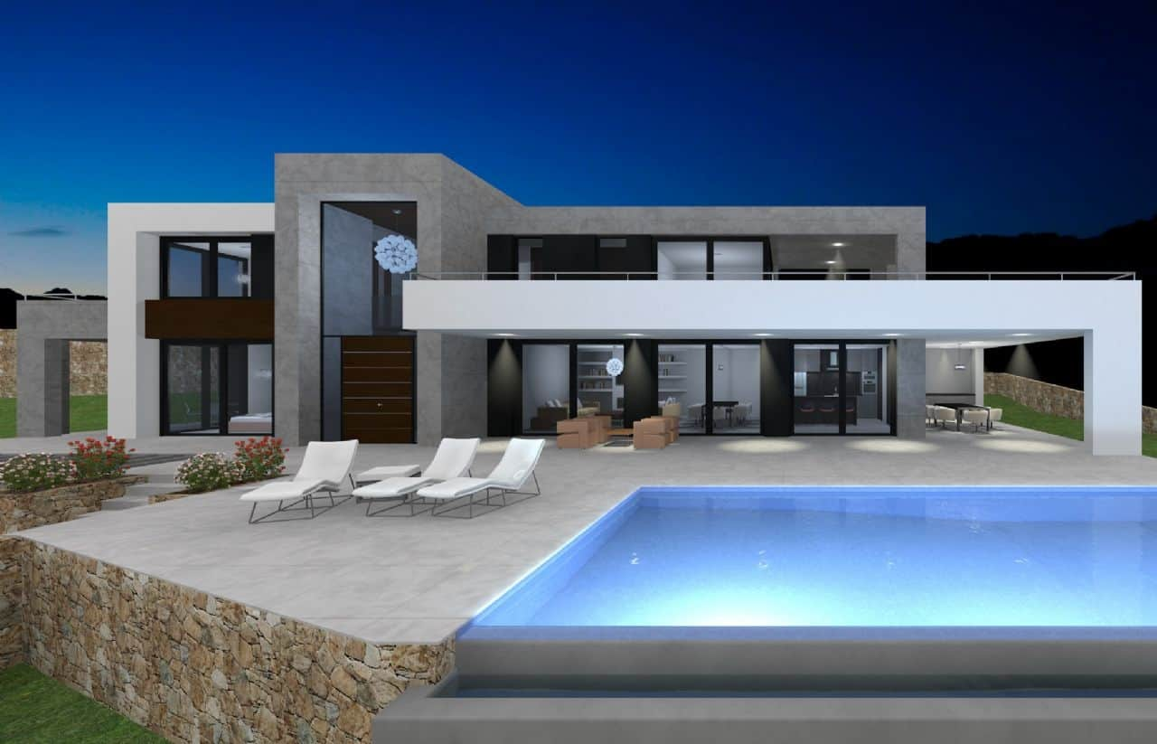 Ref:PPS20425C Villa For Sale in Moraira