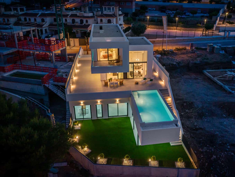 Spectacular New 3 Bedroom Modern Villa – Polop