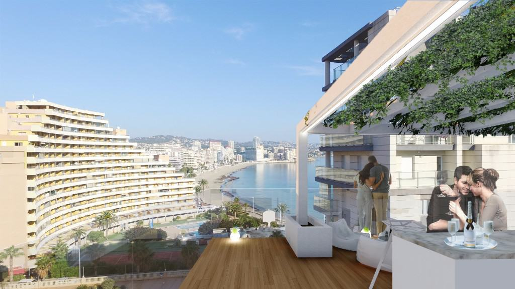 Ref:PPS20576C Apartment For Sale in Calpe