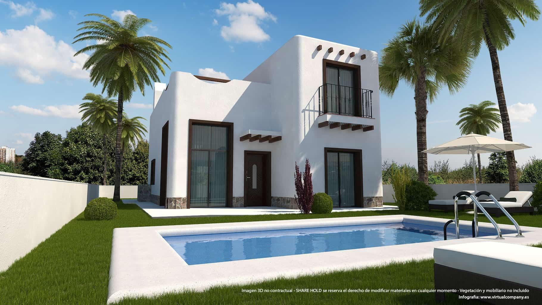 Ref:PPS20585C Villa For Sale in Ciudad Quesada