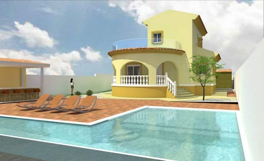 Ref:PPS20587C Villa For Sale in Ciudad Quesada
