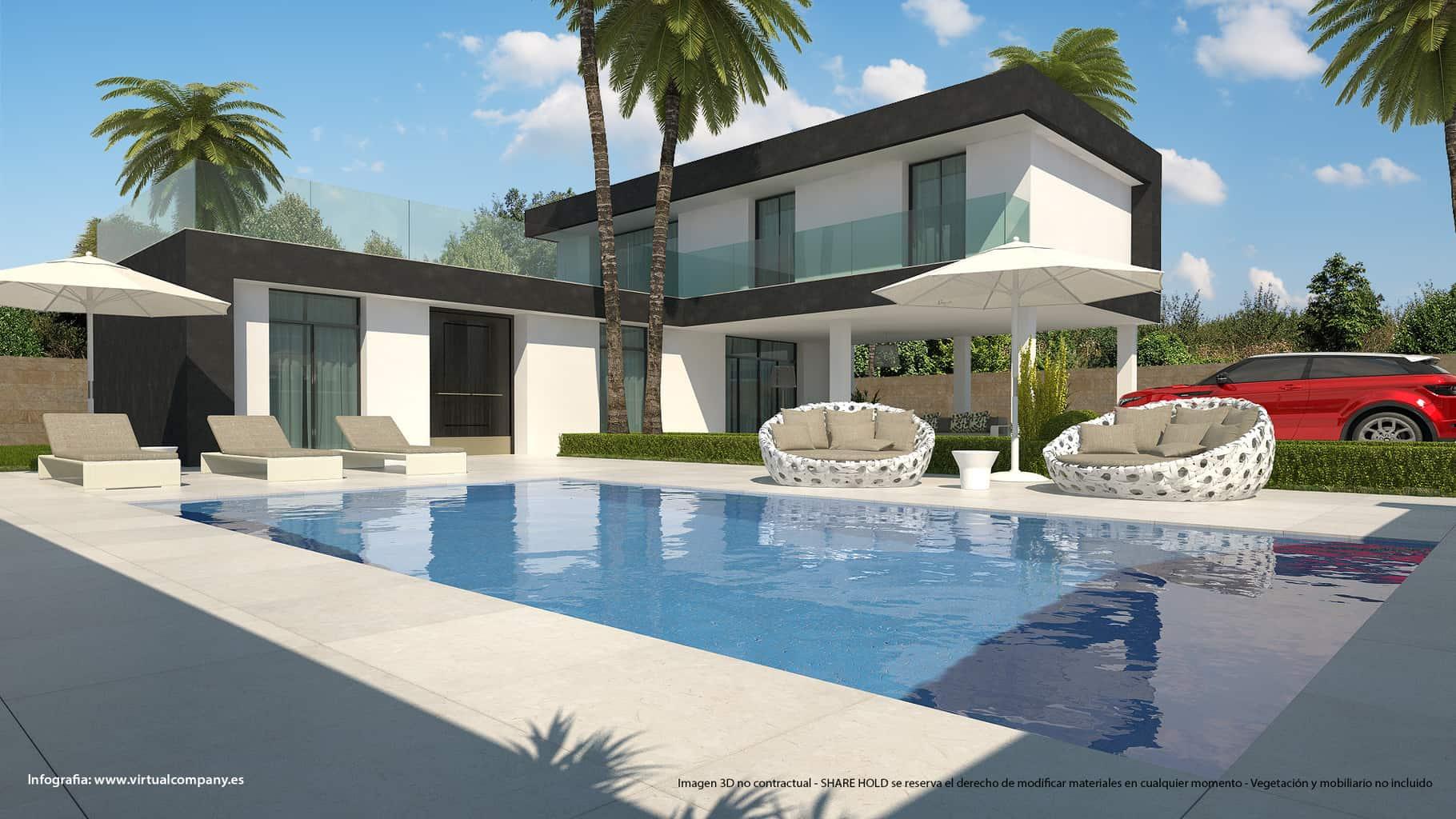 Ref:PPS20596C Villa For Sale in Ciudad Quesada