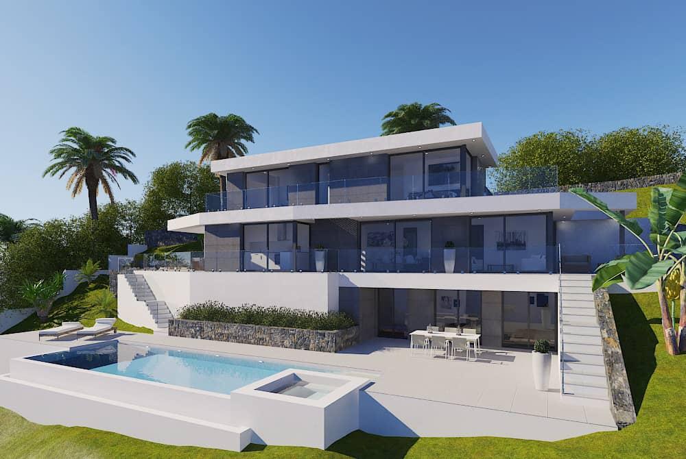 Modern 5 Bedroom Villa – Javea