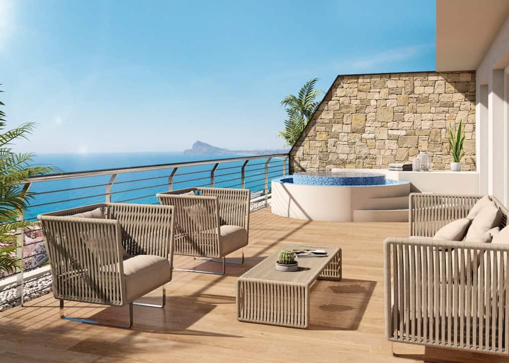 Stunning New 2 or 3 Bedroom Apartments – Altea
