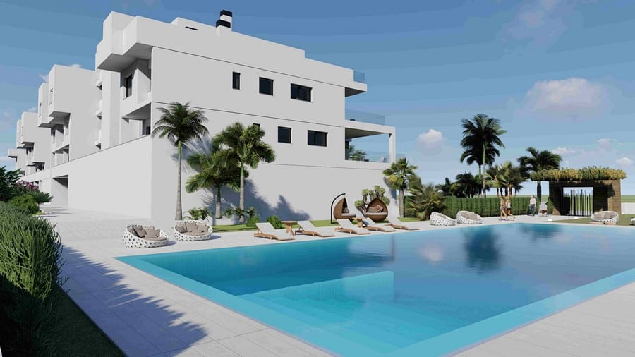New 2 Bedroom Apartments  – Villamartin
