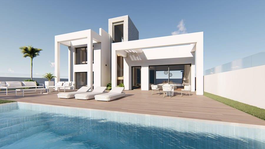 Beautiful New 3 Bedroom Villas – Finestrat
