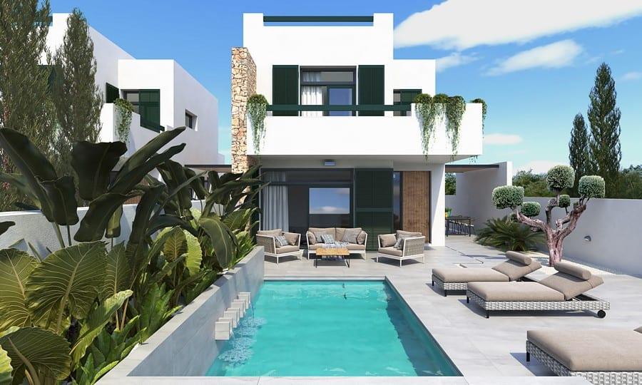 New Modern 3 Bedroom Villas – Daya Nueva