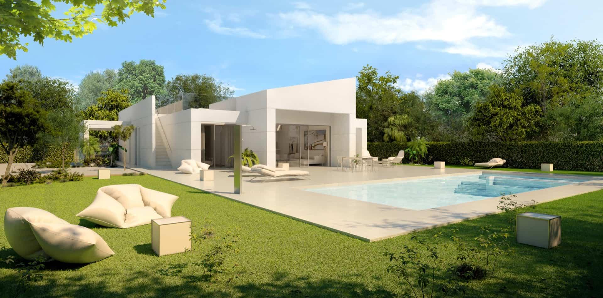 Beautiful 4 Bedroom Villa – Altaona Golf Resort – Murcia