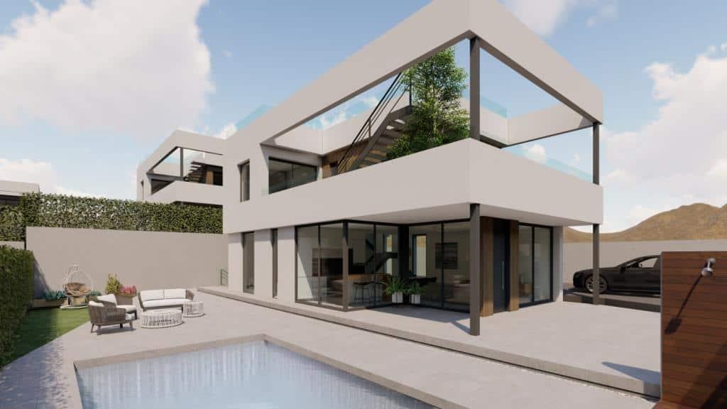 New Modern 3 Bedroom Villas – Finestrat