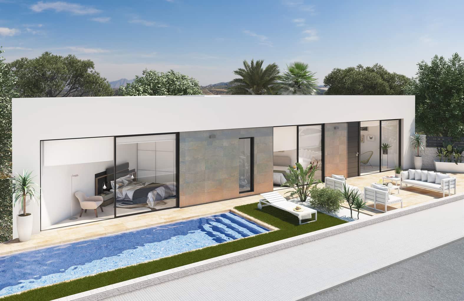 New 3 Bedroom Villa – Benijofar